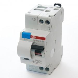 Автоматический дифференциальный выключатель тока DSH941R C25 30мА 2CSR145001R1254 (2014 год)