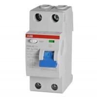 АВВ Выключатель дифференциальный тока 2мод. F202 АС-16/0,01 2CSF202001R0160