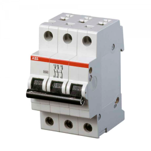 Автоматический трехполюсный выключатель SH203 25А С SH203L 4.5кА