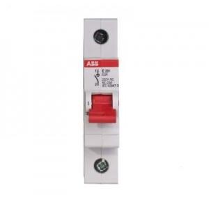 Рубильник 1пол. SHD201/50 рычаг красный 2CDD271111R0050