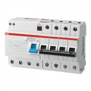 Выключатель автоматический дифференциальный тока 8мод. DS204 AC-C50/0,03 2CSR254001R1504