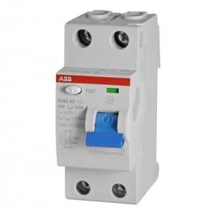 АВВ Выключатель дифференциальный тока 2мод. F202 АС-25/0,03 2CSF202001R1250