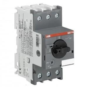 Автоматический выключатель 1SAM250000R1014 MS116-25 10кА с регулируемой тепловой защитой 20A-25А Класс тепл. расцепит. 10