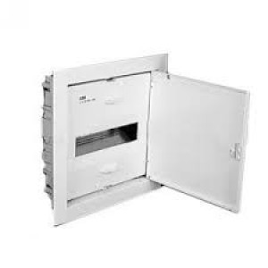 Бокс АВВ UK510Е белая дверь, встраиваемый 12-14M