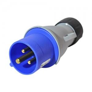 Вилка кабельная ICAT 216-P6 16A, 2P+E, IP44 2CMA193501R1000