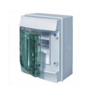 Щит распределительный металлический ABB MISTRAL IP65 8M с прозрачной дверью