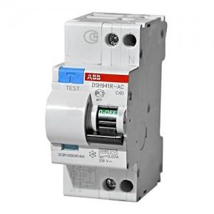 Выключатель автоматический дифференциального тока ABB DSH941R C 40 30mA тип АС