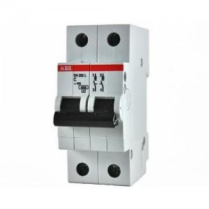 Автоматический выключатель 2 пол. ABB SH202L 2CDS242001R0064 C6