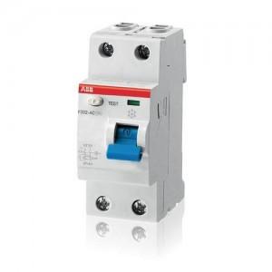 Выключатель автоматический дифференциального тока ABB F202 25A 30mA AC