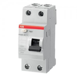 Выключатель автоматический дифференциального тока ABB FH202 25A 30mA AC