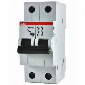 Автоматический выключатель ABB SH202L 2P 4.5кА 63А С63